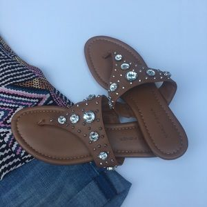 Marc Fisher Jeweled Sandal